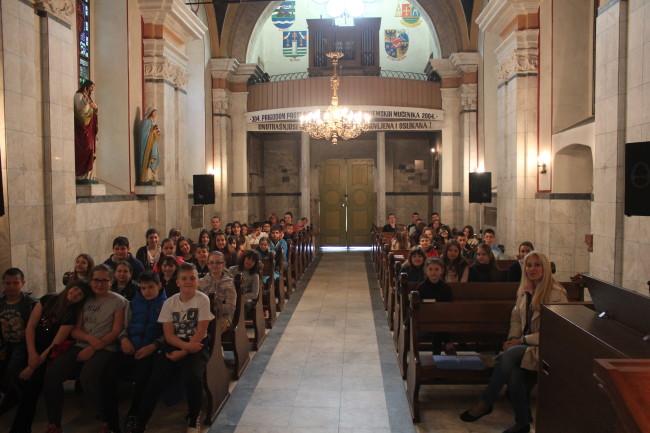 Vjeroučenici iz Subotice posjetili Tekije