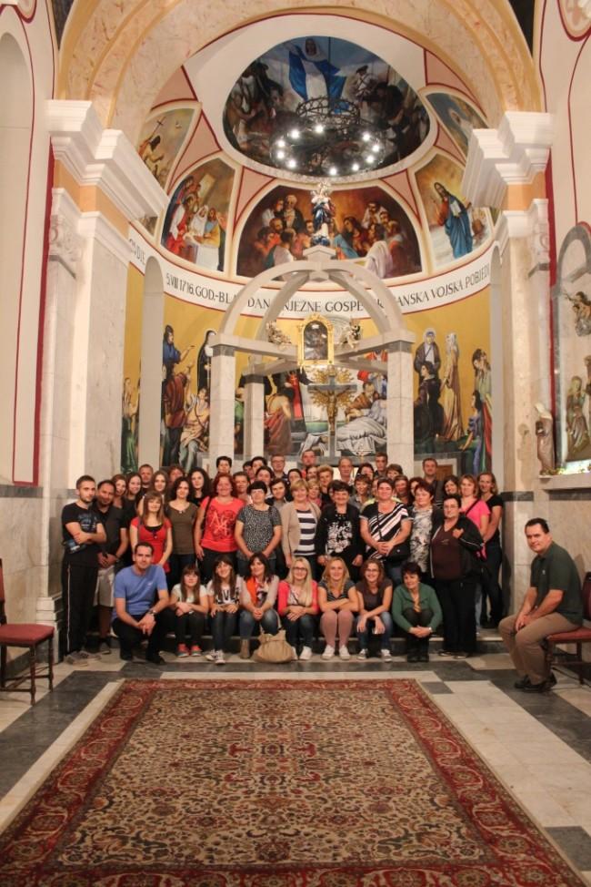 Svetište ugostilo Brođane