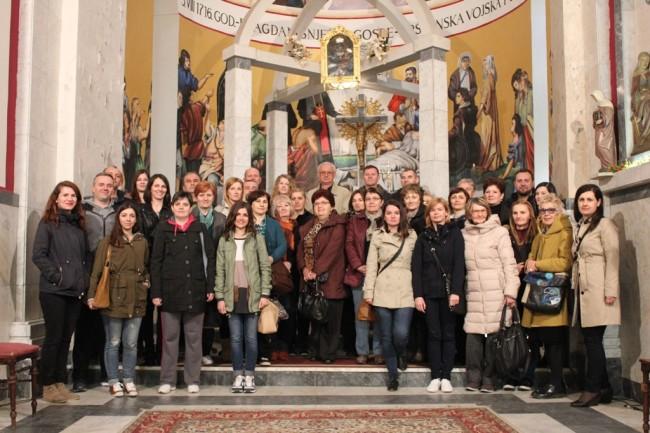 Prosvjetni radnici Hrvatske posjetili Svetište