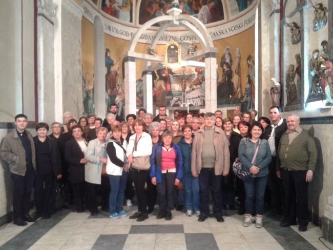 Stigli su nam i hodočasnici iz Slavonskog Broda