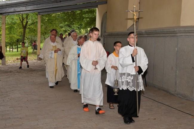 Sveti Joakim i Ana proslavljeni i u svetištu na Tekijama